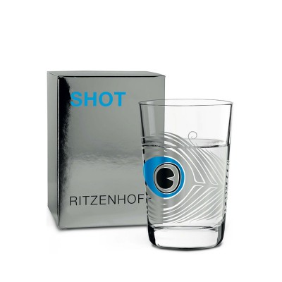 Ritzenhoff SHOT Glass by Sonia Pedrazzini (Peacock)