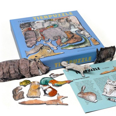 Friedrich Waechter Animal Puzzle