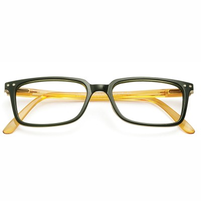 Have A Look Reading Glasses - Classic - Green & Amber