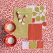 Fabric Remnant - Samia Coral - 1.25 Metres