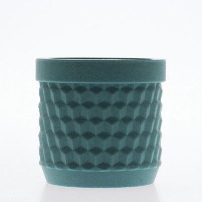 Silicone Flower Pot - Ocean Blue