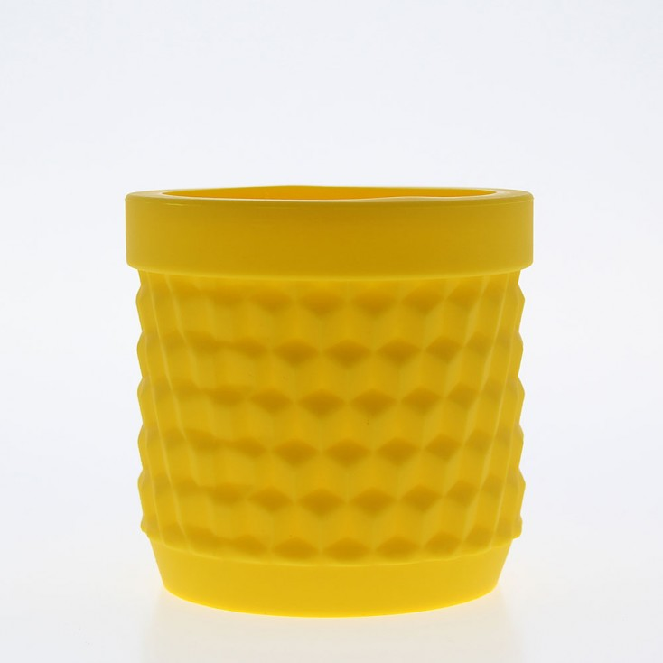 Silicone Flower Pot - Yellow