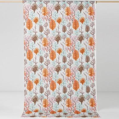 Remnant - Haga Turquoise Fabric - 1.6 m