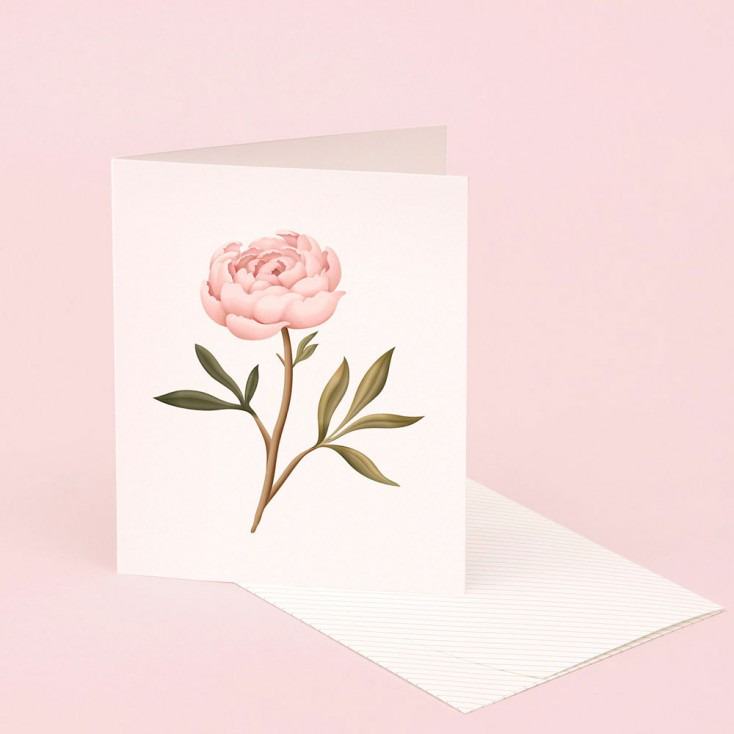 Clap Clap Botanical Card With Peony Scent