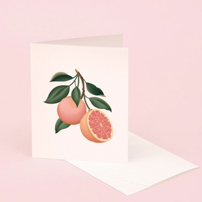 Clap Clap Botanical Card With Grapefruit Scent