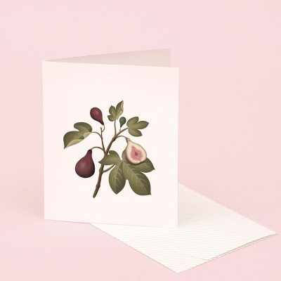 Clap Clap Botanical Card With Fig Scent