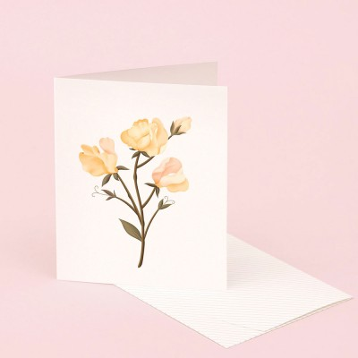 Clap Clap Botanical Card With Sweet Pea Scent
