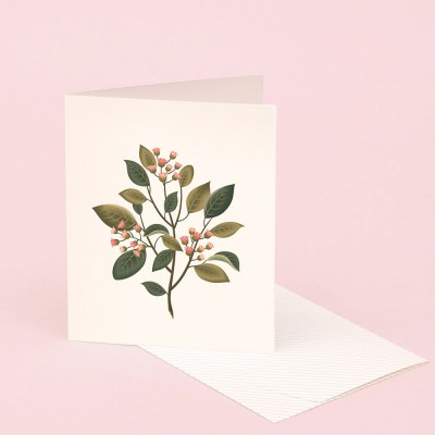 Clap Clap Botanical Card With Sandalwood Scent