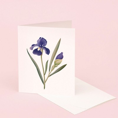Clap Clap Botanical Card With Iris Scent