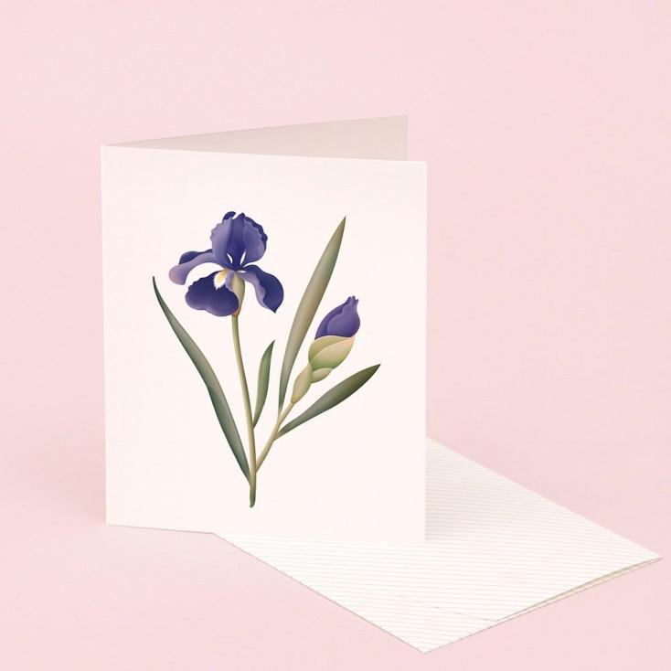 Clap Clap Botanical Card With Iris Scent