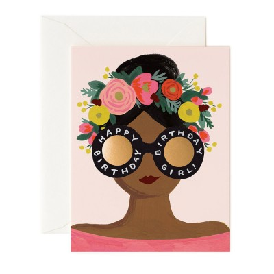 Rifle Paper Greeting Card - Flower Crown