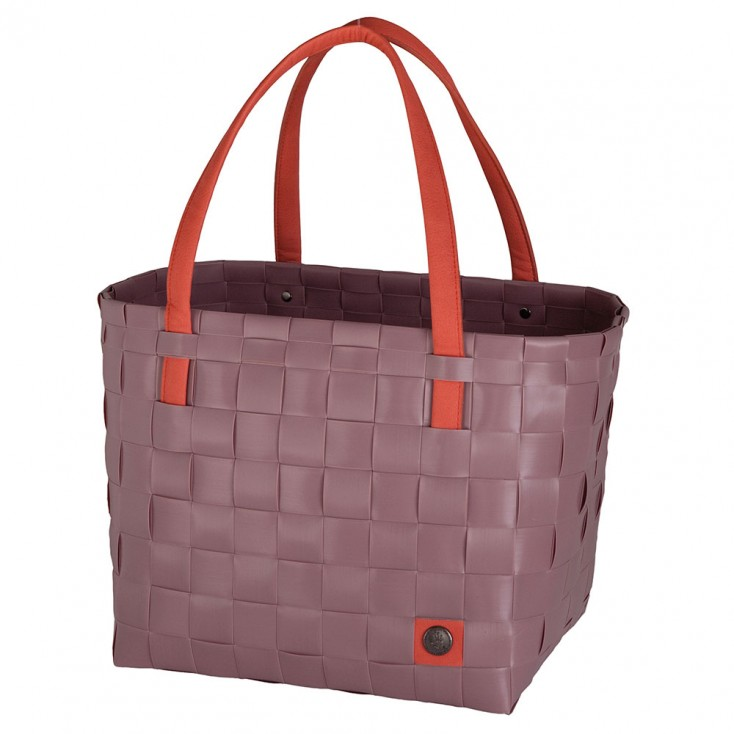 Handed By Colour Block Shopper - Rustic Pink