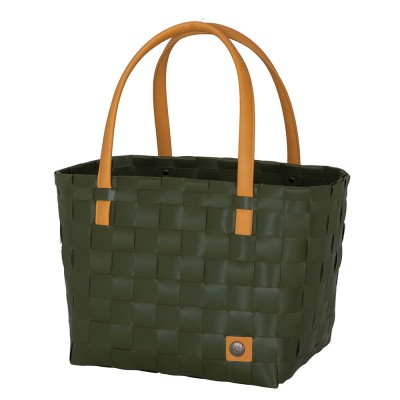 Handed By Colour Block Shopper - Hunting Green