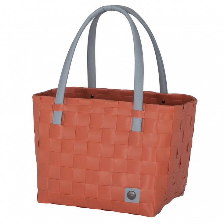 Handed By Colour Block Shopper - Clay