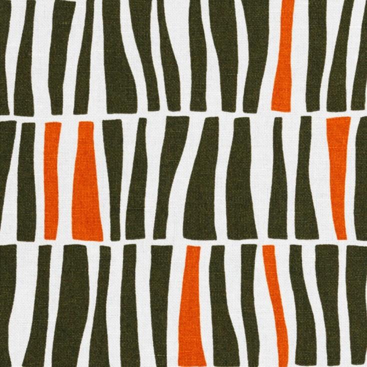 Spra Zilla Khaki Scandinavian Fabric