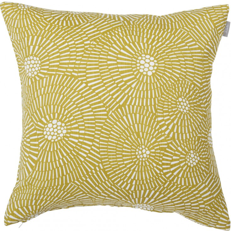 Spira Virvelvind Cushion Cover - Mustard