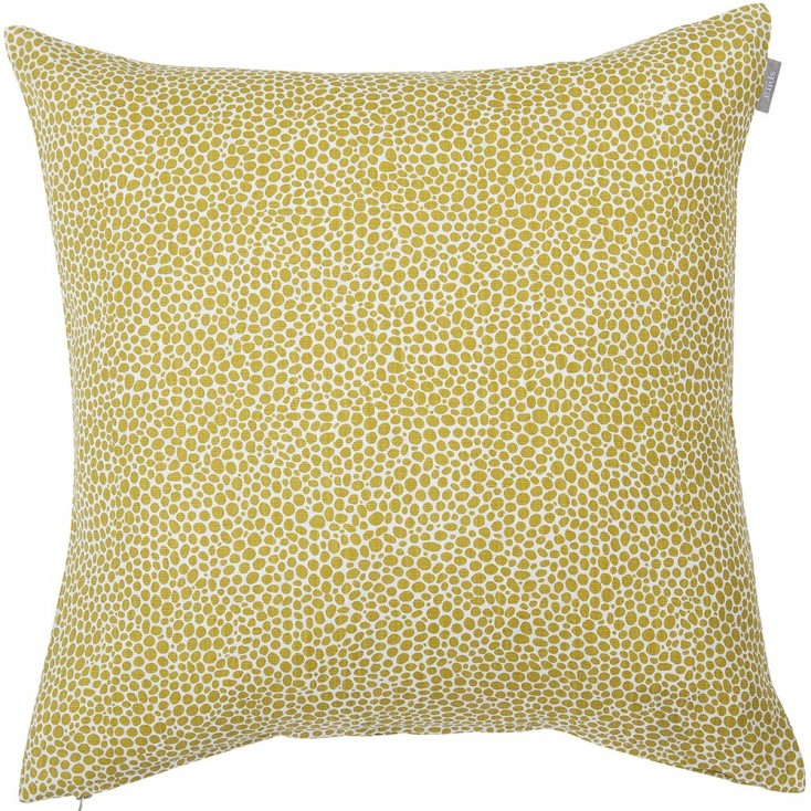 Spira Dotte Cushion Cover - Mustard