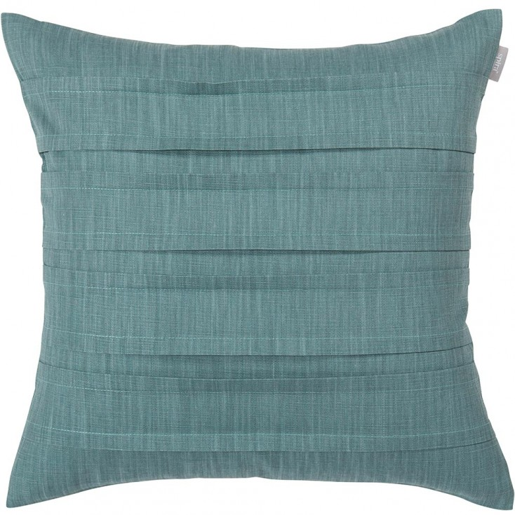 Spira Pleat Cushion Cover - Smoke Blue