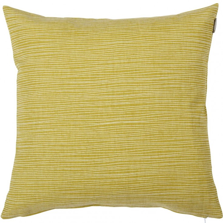 Spira Line Cushion Cover - Mustard