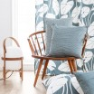 Scandinavian Fabric - Spira Dotte Smoke Blue