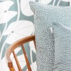 Spira Line Cushion Cover - Smoke Blue