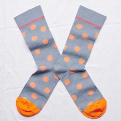 Bonne Maison Socks - Storm Polka Dot