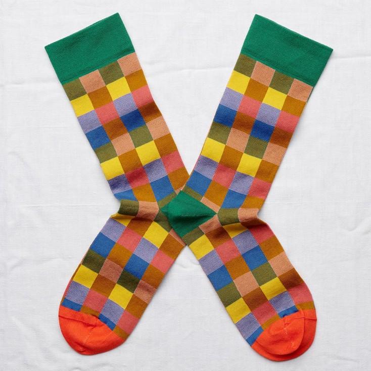 Bonne Maison Socks - Multicolour Bauhaus
