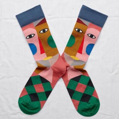 Bonne Maison Socks - Multico Head