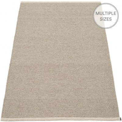 Pappelina Mono Large Rug - Dark Linen