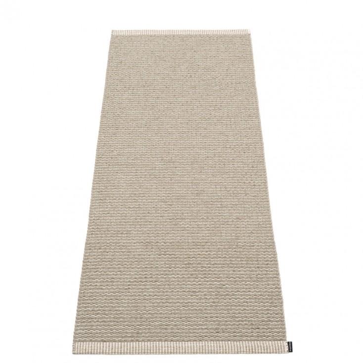 Pappelina Mono Runner - Dark Linen 60 x 150 cm