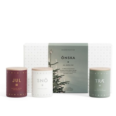 Skandinavisk Mini Scented Trio - Önska (Wish)