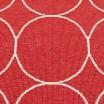Pappelina Boo Runner - Red & Vanilla Detail