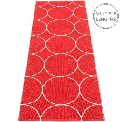 Pappelina Boo Runner - Red & Vanilla 70 x 200 cm