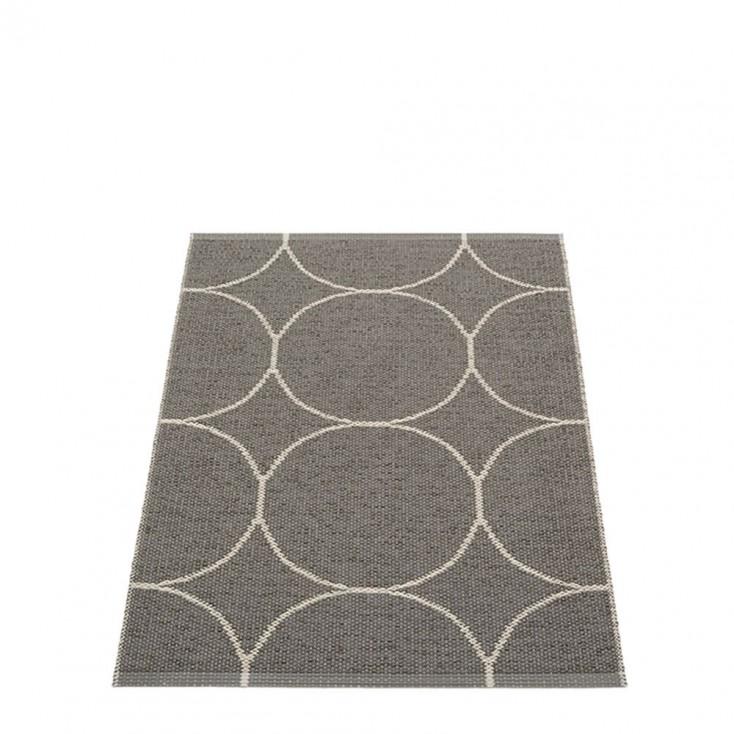 Pappelina Boo Runner - Charcoal & Linen 70 x 100 cm