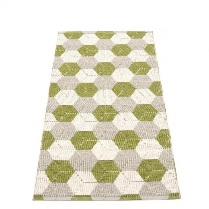 Pappelina Trip Runner - Olive : Linen : Vanilla 70 x 150 cm