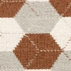 Pappelina Trip Runner - Rust : Linen : Vanilla Detail