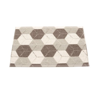Pappelina Trip Small Mat - Dark Mud