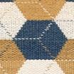 Pappelina Trip Small Mat - Ocean Blue Detail