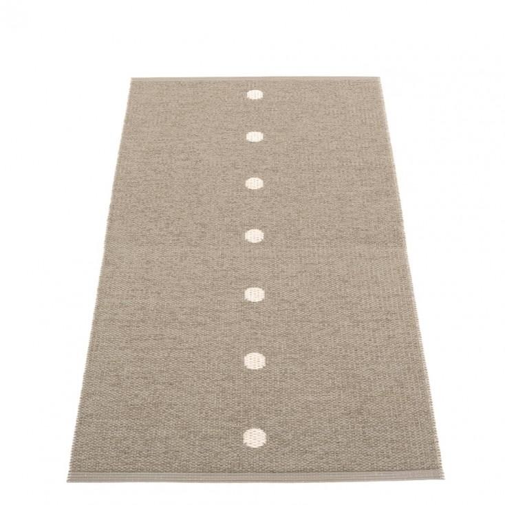 Pappelina Peg Runner - Dark Linen & Vanilla 70 x 140 cm