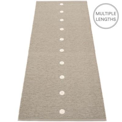 Pappelina Peg Runner - Dark Linen & Vanilla 70 x 200 cm