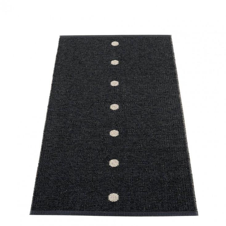 Pappelina Peg Runner - Black & Linen 70 x 140 cm