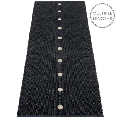 Pappelina Peg Runner - Black & Linen 70 x 200 cm