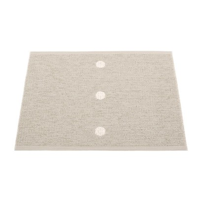 Pappelina Peg Small Mat - Linen & Vanilla 70 x 60 cm