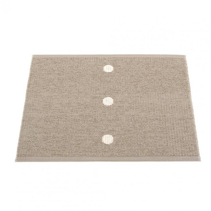 Pappelina Peg Small Mat -Dark Linen 70 x 60 cm