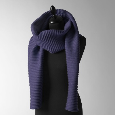 Design House Stockholm Long Pleece Scarf - Midnight Blue