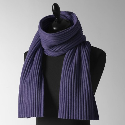 Design House Stockholm Short Pleece Scarf - Midnight Blue