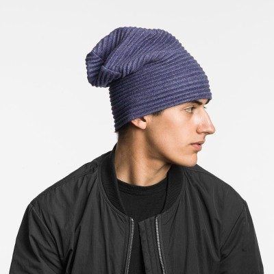 Design House Stockholm Pleece Beanie Hat - Midnight Blue