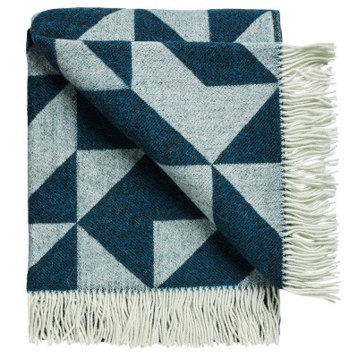 Twist A Twill Blanket - Petrol
