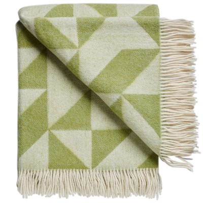 Twist A Twill Blanket - Apple Green