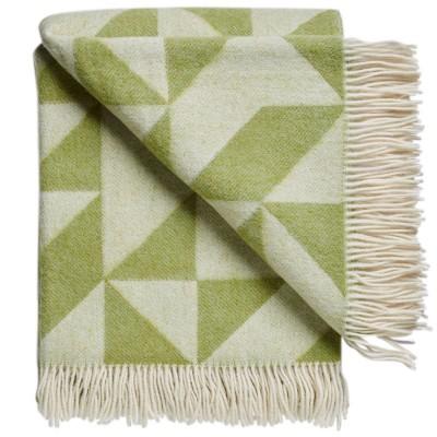 Twist A Twill Blanket - Apple Green